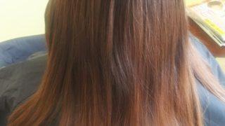 バッサリカット&グレージュ系カラー♪秋田市美容室ピース