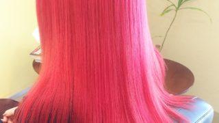 ピンク♪ピンク♪カラー♪秋田市美容室ピース♪